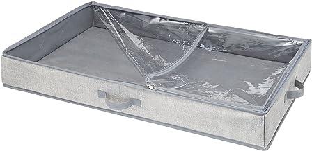 iDesign 05353EU Aldo onderbedlade voor kleding, handtassen, schoenen, schoenen, 91,4 x 53,3 x 12,7 cm, grijs, polypropylee...