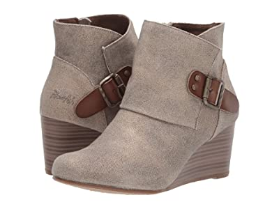 Blowfish Baldwin (Light Taupe Starwash Canvas/Taupe Dyecut) Women