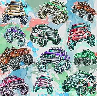 Best monster truck fabric Reviews