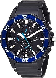 Casio Mens Quartz Watch, Analog Display and Resin Strap