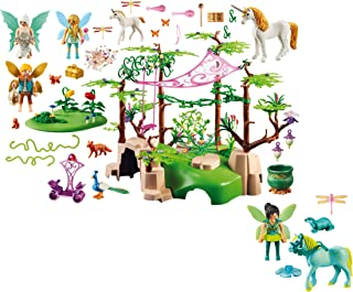 Playmobil Magical Fairy Forest and Enchanted Fairy with Horse