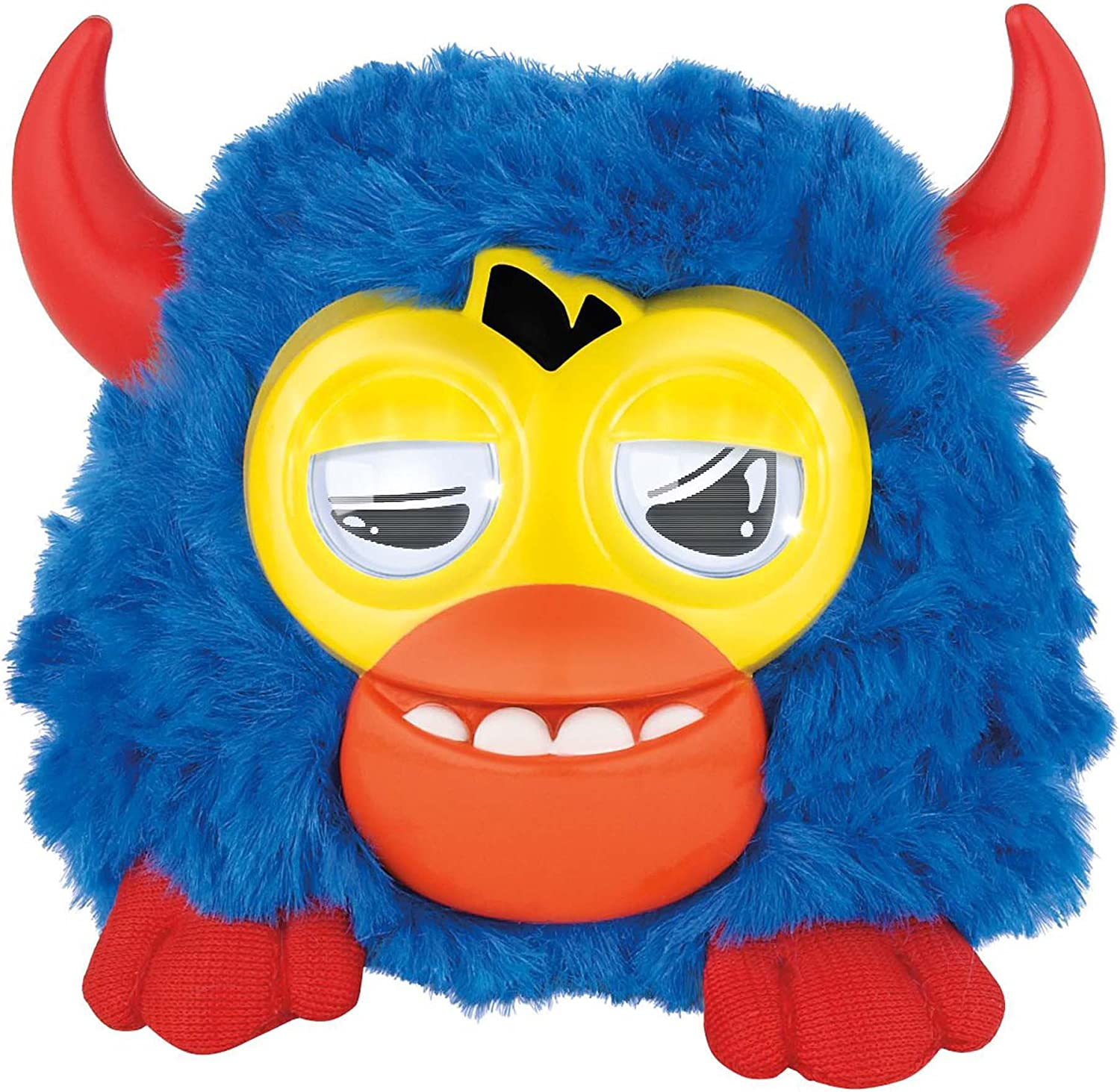 Furby Party Rockers Creature (Dark bluee with Horns)