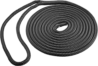 ACY Marine Double Braided Nylon Dock Line, Exceptional and Premium Nylon Rigging Line, Highly Premium Dock line and Oil Re...