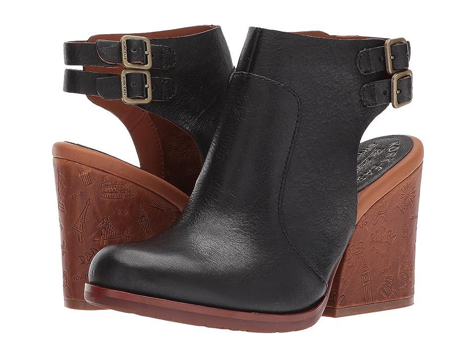 Kork-Ease Cedro (Black Full Grain Leather) Women