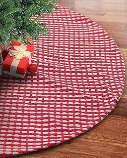 wool christmas tree skirt