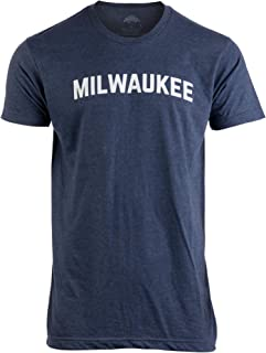 Milwaukee | Classic Retro City Grey Wisconsin Beer Brew Pride Men Women T-Shirt