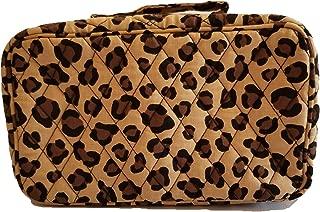 Vera Bradley Women's Blush & Brush Makeup Cosmetic Case (Winter Leopard)