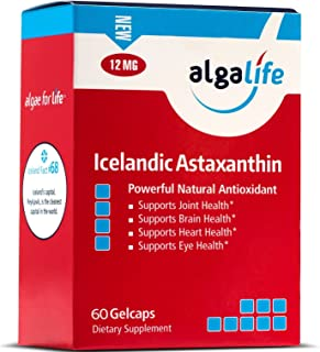 Algalife Pure Astaxanthin - Support Joint Pain & Eye Health, Made From Natural Icelandic Water, Super Powerful Antioxidant...
