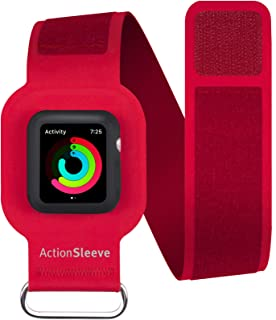 Twelve South ActionSleeve/Armband for 38mm Apple Watch, red