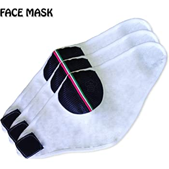 The Cotton Chef Bike Face Mask Dust Protection Anti Pollution Gear Face Air Filter Balaclava (Pack Of 3)
