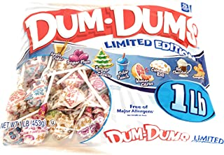 Dum Dums Limited Edition Holiday Flavors