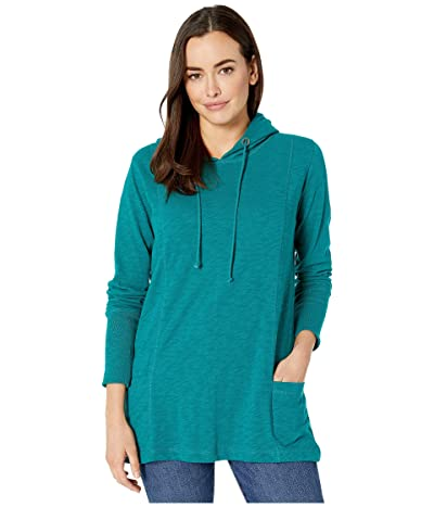 Jag Jeans Gemma Hooded Tunic (Everglade) Women