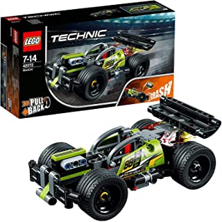 LEGO 42072 Technic Impulse WHACK! Racing Car Toy, Pull-Back Motor, 2 in 1 Advanced Building Set For Boys