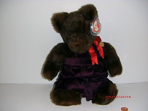 clásico atemporal Ty Classic Plush - PJ Bear Large marrón marrón marrón by Ty  Garantía 100% de ajuste