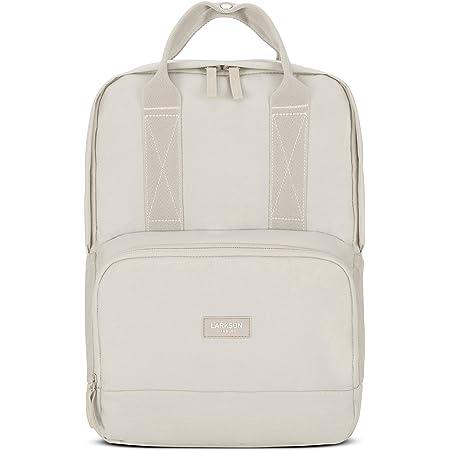 LARKSON Rucksack Damen & Herren No 6 - Moderne Rucksäcke aus recyceltem PET für Arbeit, Uni & Schule - Klein & Elegant - Wasserabweisend mit Laptopfach