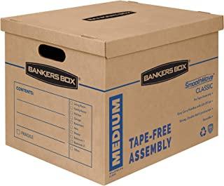 Bankers Box cajas de mudanza, Paquete de 8, Mediano