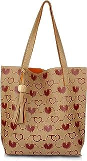 Mammon Women's Multi-colored Tote Hand bag (print-tote-hrt)