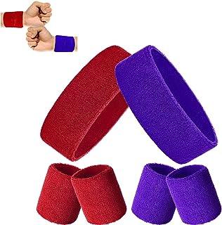 Bracelets de Conception de Baseball Football Basket-Ball Football Bandeaux de Poignet en Coton Color/é pour Faveurs de F/ête de Sport 6 Couleurs 36 Pi/èces Bracelets Poignet de Sport pour Enfants