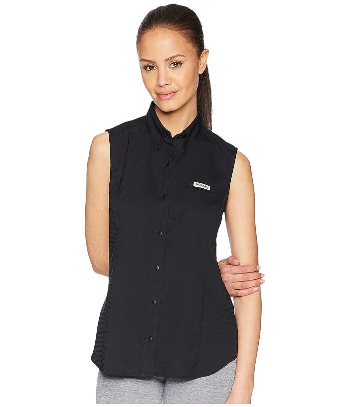 Columbia Tamiamitm Sleeveless Shirt (Black) Women