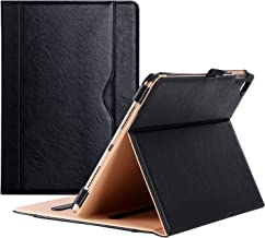 Procase iPad Pro 9.7 Case Stand Folio Case Cover for Apple iPad Pro 9.7 Inch 2016, with Multiple Viewing Angles, Document Card Pocket (Black)