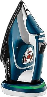 Russell Hobbs Fer à Repasser Vapeur 2600W Sans Fil, Semelle Céramique, Fonction Autonettoyage - 26020-56 One Temperature