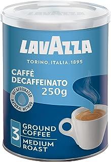 Lavazza Ground Coffee Cafe Decaffeinato (Decaf) Tin, 250g