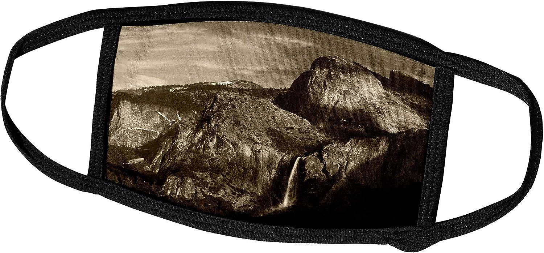 3dRose Bridal Veil Falls, Yosemite, California, USA - US05 AJE0061 -. - Face Covers (fc_142542_3)