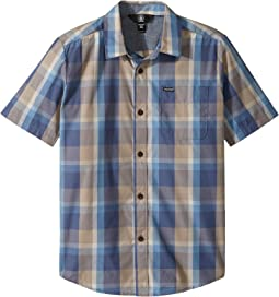 Volcom Kids - Woodson Short Sleeve Shirt (Big Kids)