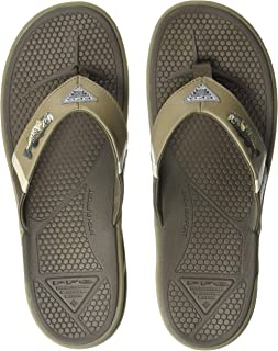 Men's PFG Fish Flip Sandal, Molded Insole, Wet-Traction Grip