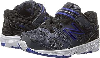 (ニューバランス) New Balance メンズランニングシューズ?スニーカー?靴 KA680v3 (Infant/Toddler) Grey/Blue グレー/ブルー 9.5 Toddler (16.5cm) W