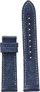 GUESS 20mm Interchangeable Leather Watch Strap