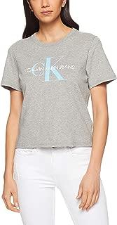 Calvin Klein Women's Cropped Logo Tee