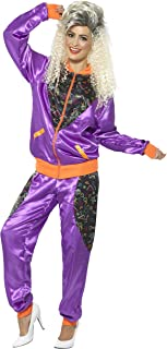 Women's Retro Shell Suit Costume, Ladies
