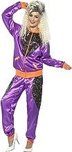 Smiffys Women's Retro Shell Suit Costume, Ladies