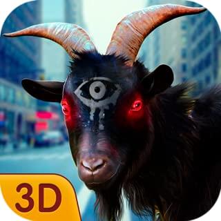Insane Angora Goat Smashy City Adventures: Bloody Battle Feral Monster Rampage Game