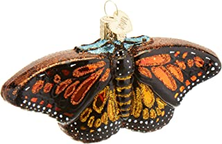 Old World Christmas Ornaments: Monarch Butterfly Glass Blown Ornaments for Christmas Tree