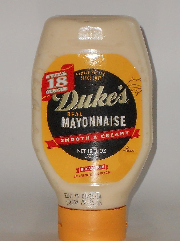 Duke's Real Mayonnaise 18 Overseas parallel import regular item fl 6 Pack Save money oz of