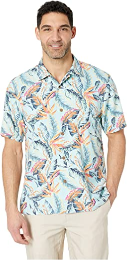 Break Wave Fronds Hawaiian Camp Shirt