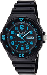 Casio Men's Quartz Watch, Analog Display and Resin Strap MRW-200H-2BVDF