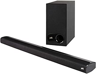 Polk Audio Signa S2 Ultra-Slim TV Sound Bar | Works with 4K & HD TVs | Wireless Subwoofer (SIGNAS2)