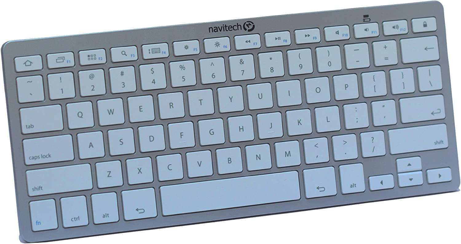 Navitech Black Wireless Multi OS Keyboard Compatible with All Android//Windows /& iOS Tablets Including The Trekstor Surftab Breeze 7.0