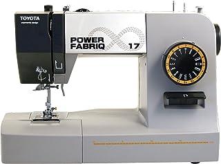 Toyota Power fabriq–Máquina de Coser (Brazo Libre 17programas, para Extra Grueso Material, Incluye Soporte y Accesorios de Deslizamiento, Piel Costura Posible