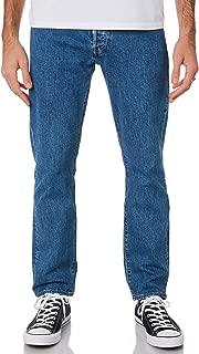 Levi's Men's 501 93 Straight Mens Jean Cotton Fitted Elastane Blue