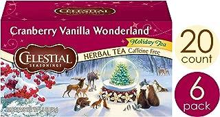 celestial seasonings cranberry vanilla