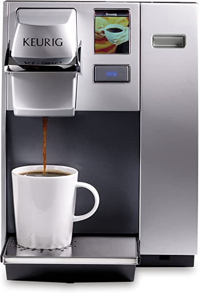 Keurig K155 Office Pro Commercial Coffee Maker Single Serve K Cup Pod Coffee Brewer Silver