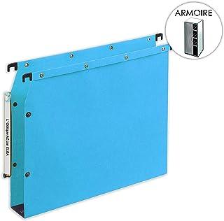 Confezione da 25 cartelle sospese AZV per armadi da archivio fondo da 15 mm LOblique AZ colore: Giallo