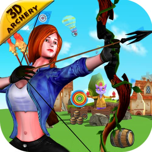 Arco e flecha 3D: arco e flecha