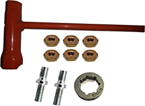 Forester Chain Saw Wrench (Scrench) 13mm by 19mm Bar Nuts Studs and Sprocket Replaces Stihl 10 Piece Bundle