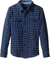 True Religion Kids - Woven Plaid Workwear Shirt (Toddler/Little Kids)