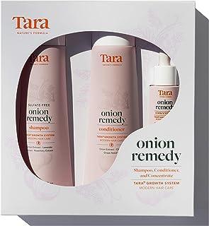 Onion Remedy Healthy Scalp Shampoo, Conditioner and Scalp Serum Set